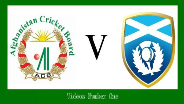 Scotland vs Afghanistan ICC T20 WC 2016 Live StreamingScotland vs Afghanistan ICC T20 WC 2016 Live Streaming