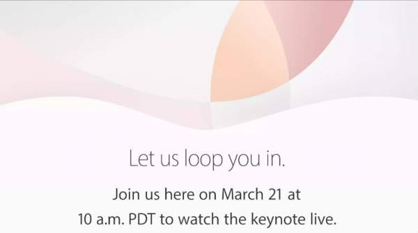 Apple iPhone SE Launch Live Streaming