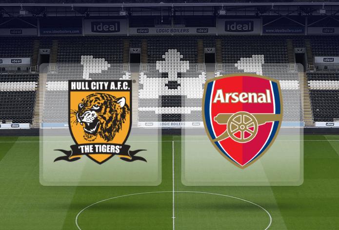 Hull City vs Arsenal Live Score