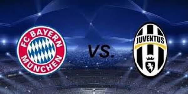 Bayern Munich vs Juventus Champions League 2016 Live Streaming