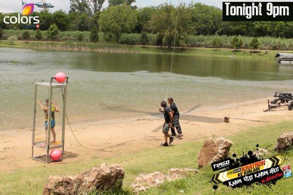 Chopper Stunt in Khatron Ke Khiladi 20th March Episode