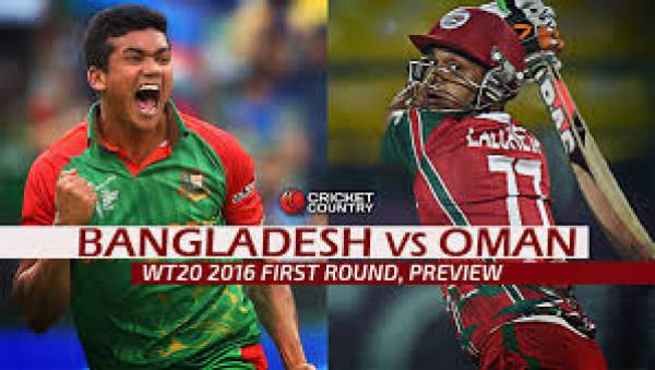 Bangladesh vs Oman Live Streaming