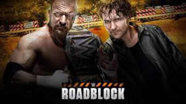 WWE Roadblock 2016 Results Live Streaming
