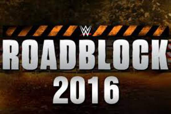 WWE Roadblock 2016 Results Live Streaming