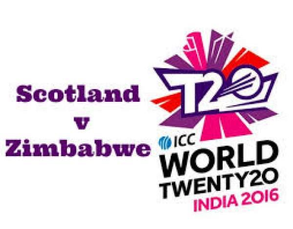 Scotland vs Zimbabwe Live Streaming