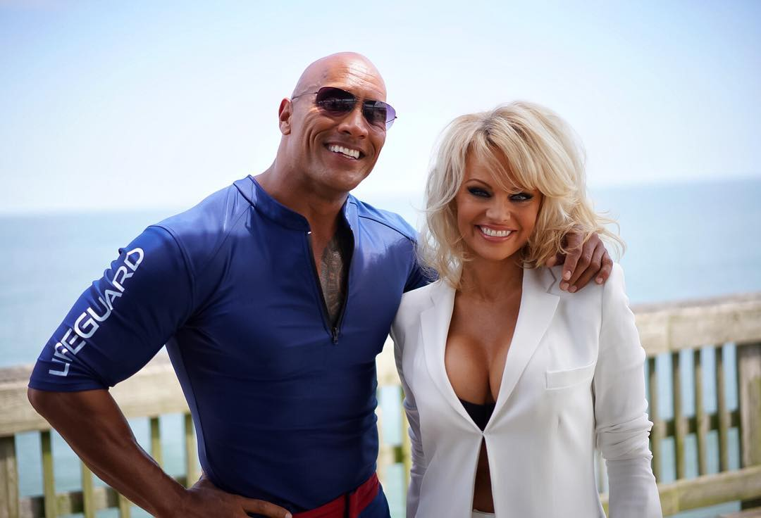 Pamela Anderson and Jhonson
