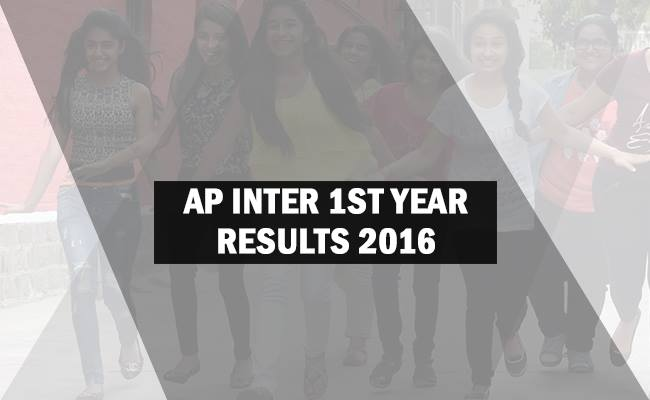AP Inter Result 2016 for 1st and 2nd Year