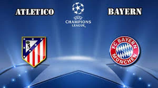 Atletico Madrid vs Bayern Munich Live Streaming