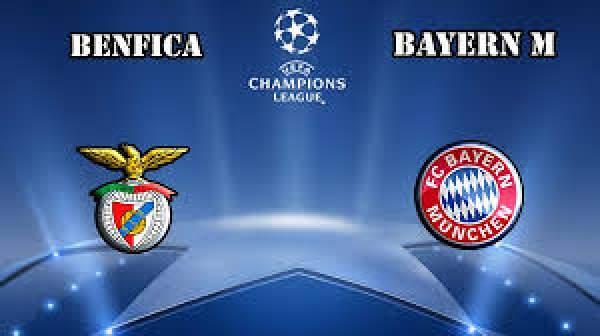 Benfica vs Bayern Munich Live Streaming