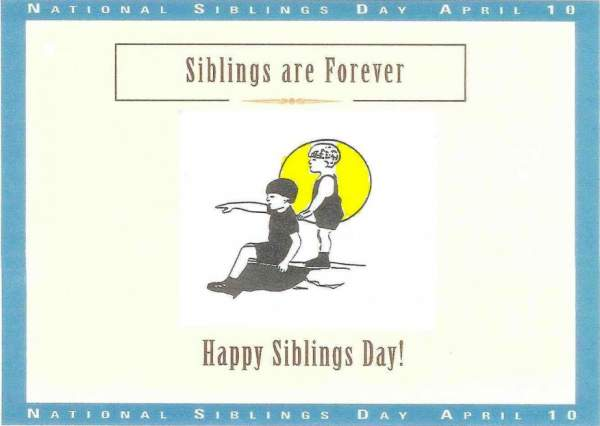 National Sibling Day 2016 Quotes, Wishes, Sayings, Images, Messages, Status