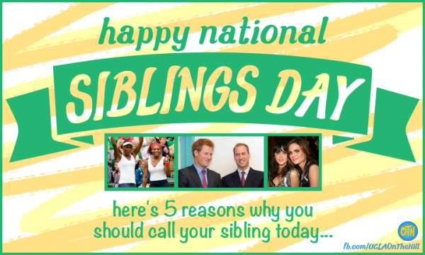 National Siblings Day 2019 Quotes, Wishes, Sayings, Images, Messages, Status