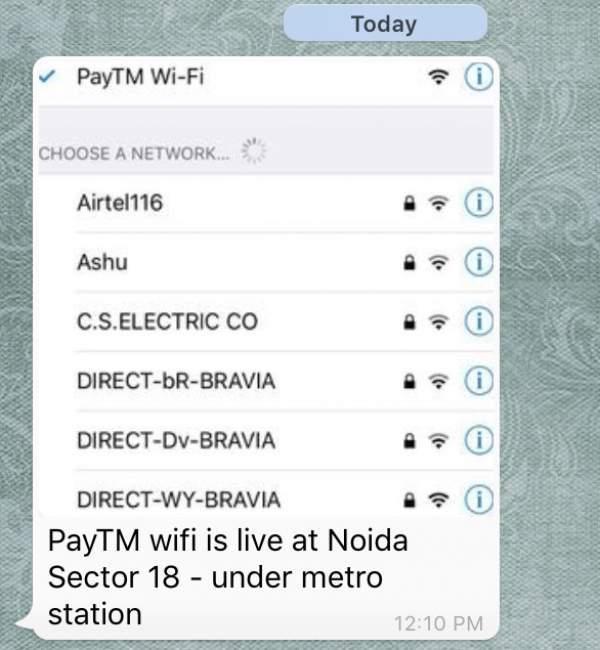 Paytm WiFi