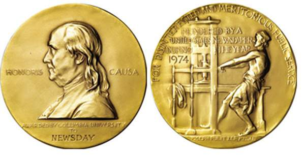Pulitzer Prizes 2016 Winners List