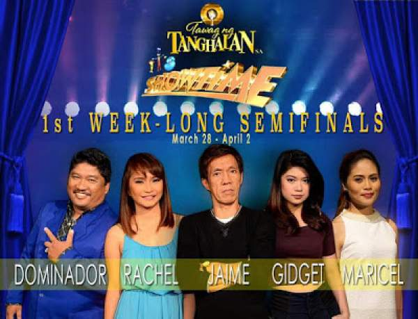 The TNT semifinalists (credit to It's Showtime / ABS-CBN)