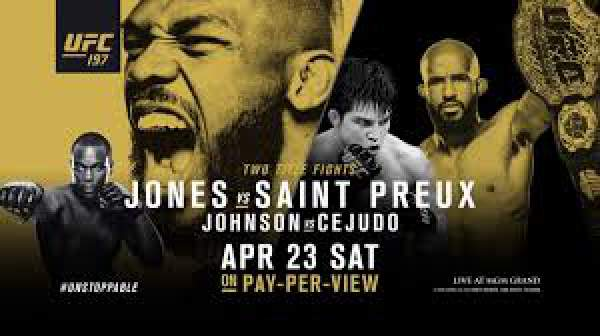 UFC 197 Jones vs. Saint Preux Weigh-In Live Streaming
