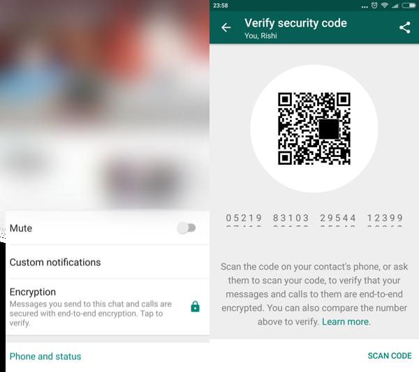 whatsapp encrypt new