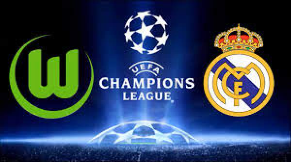 Real Madrid vs Wolfsburg Live Streaming