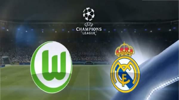 Real Madrid vs Wolfsburg Live Streaming