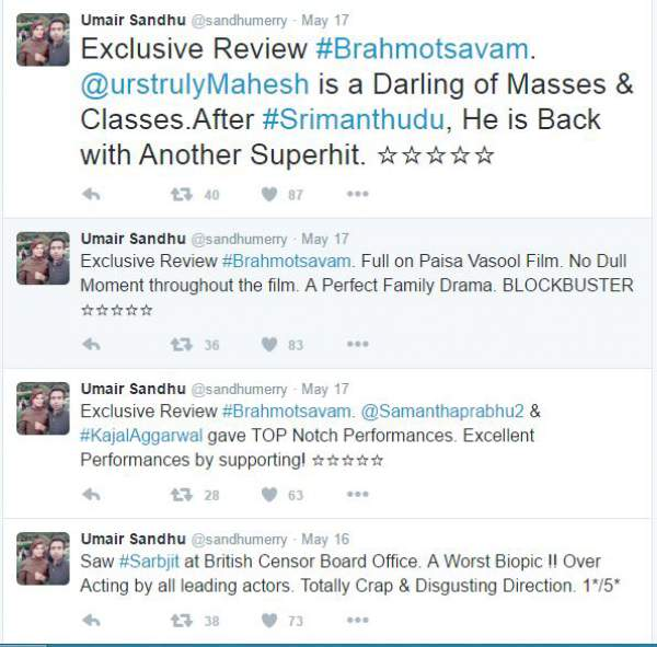 Brahmotsavam Review Rating