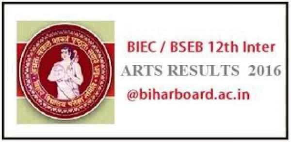 www.biharboard.ac.in Bihar Board 12th Arts Result 2016: Check BSEB Inter Vocational Exam Result