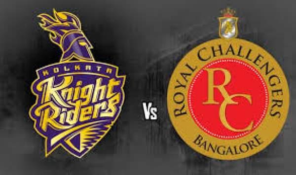 Royal Challengers Bangalore vs Kolkata Knight Riders Live Streaming