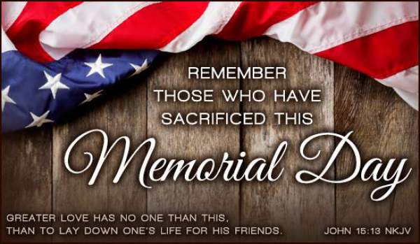 Happy Memorial Day 2017 Quotes Sayings Wishes Messages Greetings Whatsapp Status