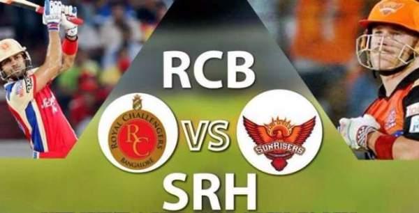 RCB vs SRH Live Streaming