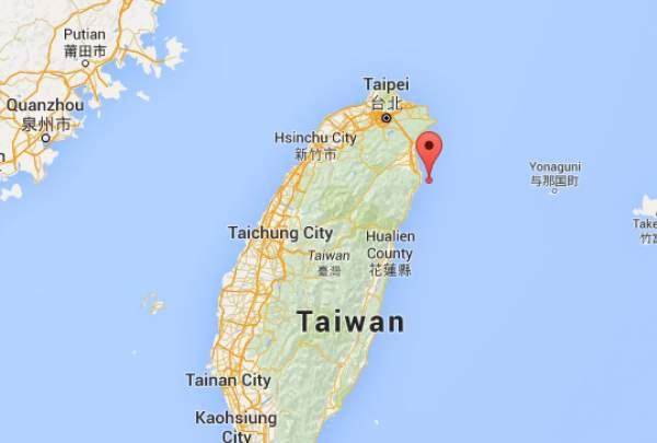 Earthquake in Taiwan
