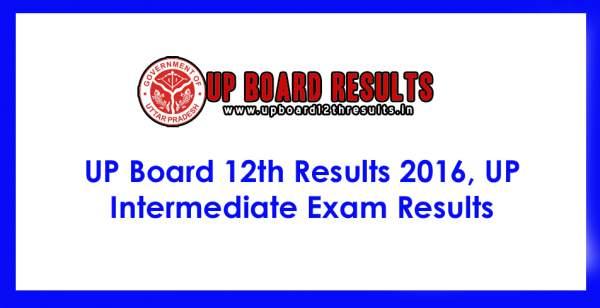 UP Board 12th Result 2016: Upmsp.nic.in Upresults.nic.in Uttar Pradesh Class 12th XII Intermediate (10 +2) exam results