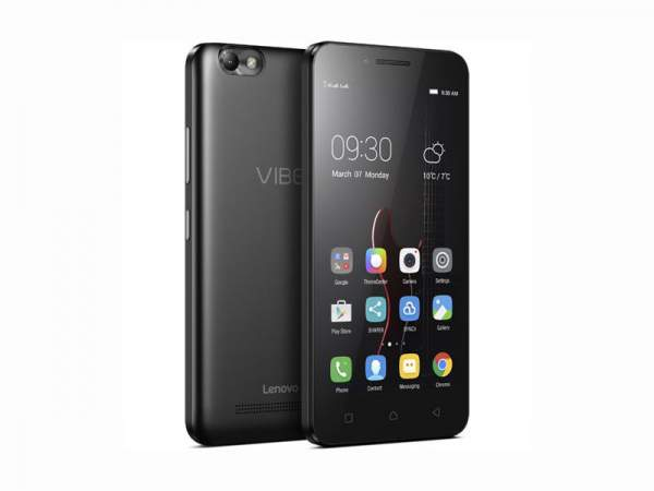 Lenovo Vibe C Specifications