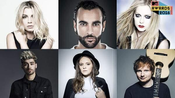 MTV Awards Star 2016