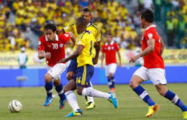 Colombia vs Chile Live Score