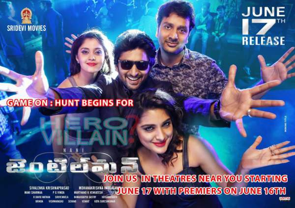 Gentleman 1st Day Collection Opening Gentleman First Friday Box Office