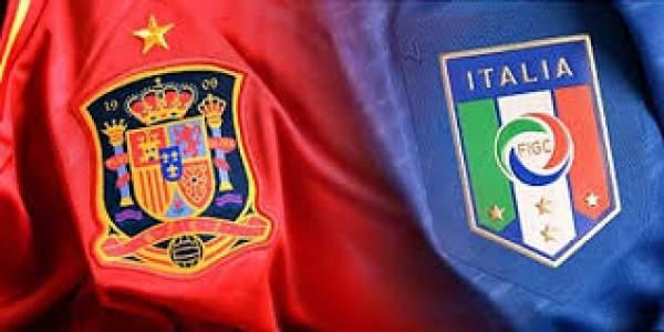 Spain vs Italy Live Score