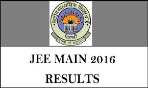 JEE Main Rank List 2016