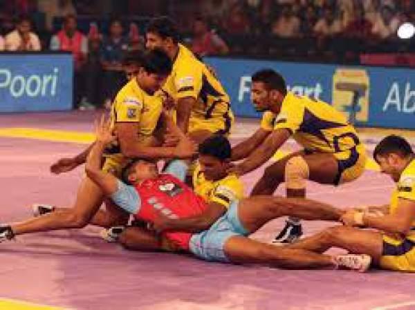 Jaipur Pink Panthers vs Telugu Titans Live Score