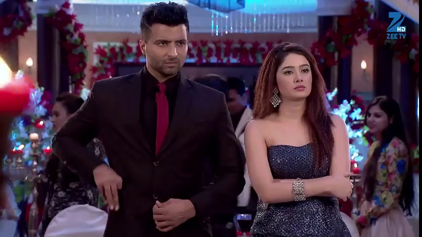 Nikhil and Tanu standing as a couple in latest episode of Kumkum Bhagya