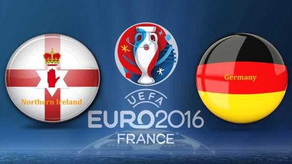 Northern Ireland vs Germany Live Score