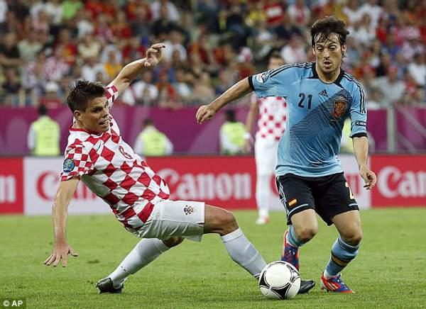 Croatia vs Spain Live Score