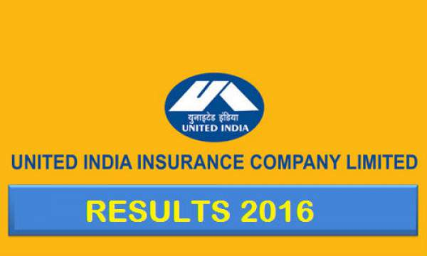 UIIC AO Result 2016 uiic.co.in Qualified Candidates List
