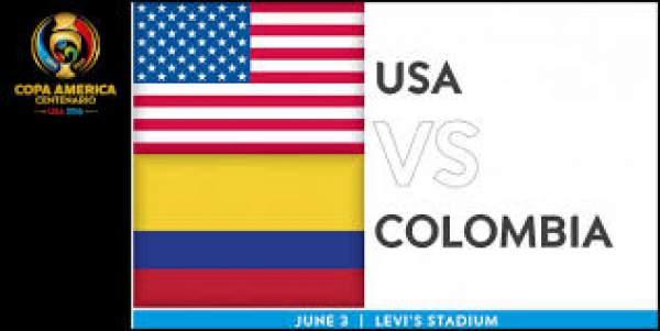 USA vs Colombia Live Score