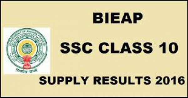 AP SSC Supplementary Result 2016