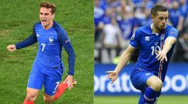 France vs Iceland Live Score