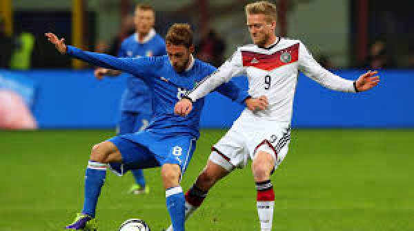 Germany vs Italy Live Score