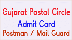 Gujarat Postal Circle Admit Card 2016
