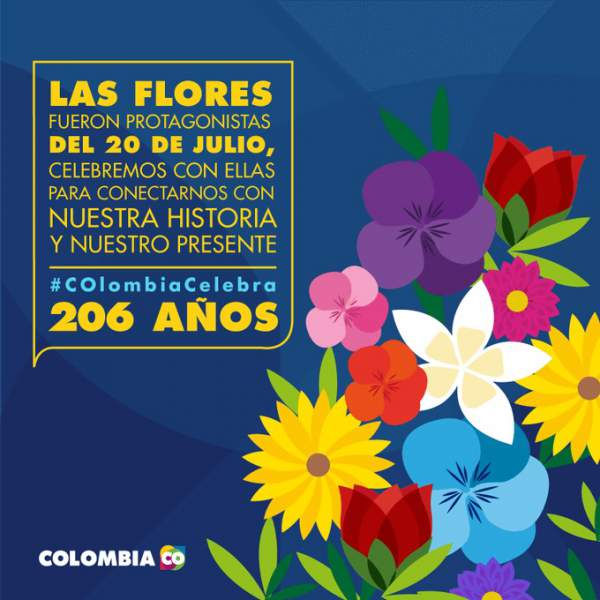 Independence Day of Colombia (Independencia De Colombia) July 20 (20 de Julio)
