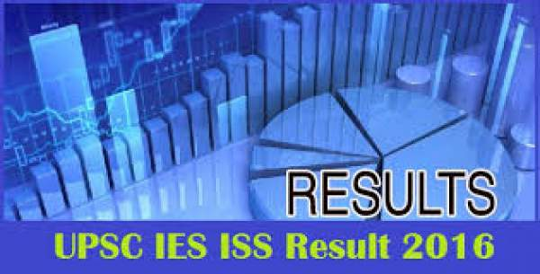 UPSC IES ISS Final Results 2016