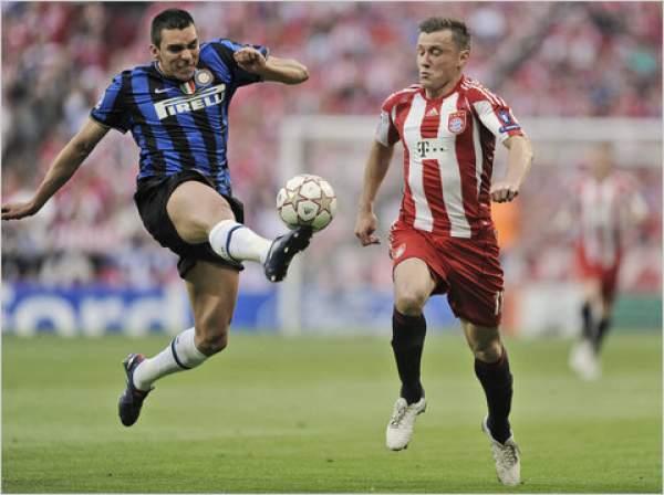 Inter Milan vs Bayern Munich Live Score