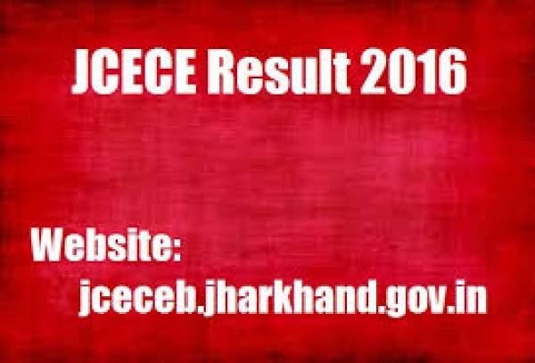 JCECE Results 2016