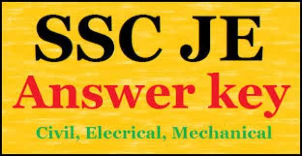 JSSC JE 2016 Answer Key